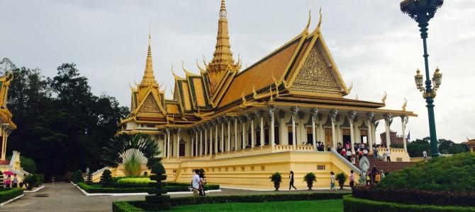 J4 : Je suis à Phnom Penh. Non mais allo quoi !!!